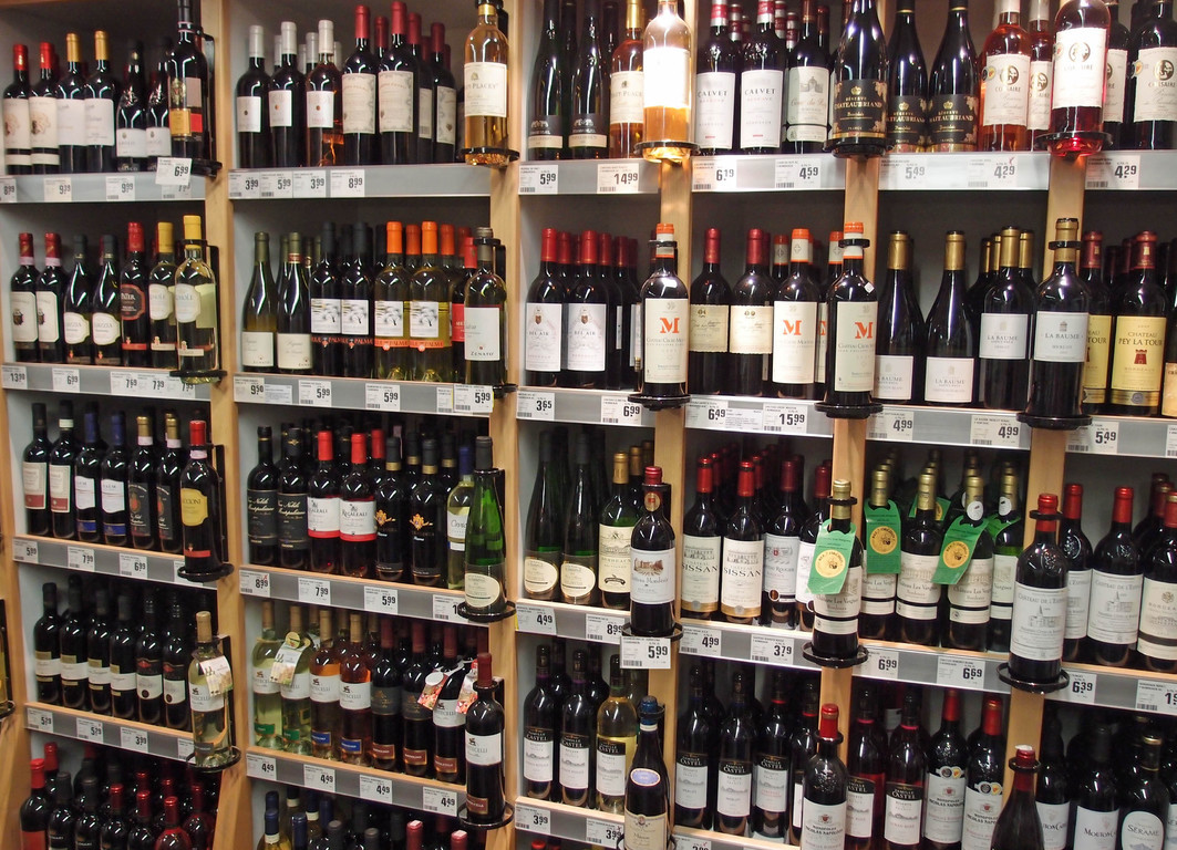 Rewe Alkohol Sortiment